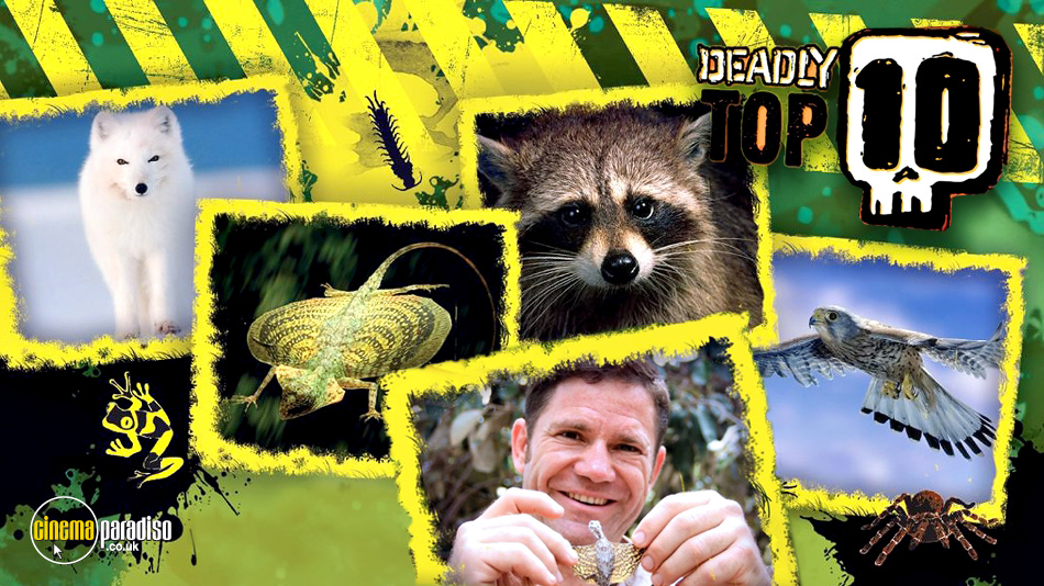 Steve Backshall's Deadly Top 10 online DVD rental