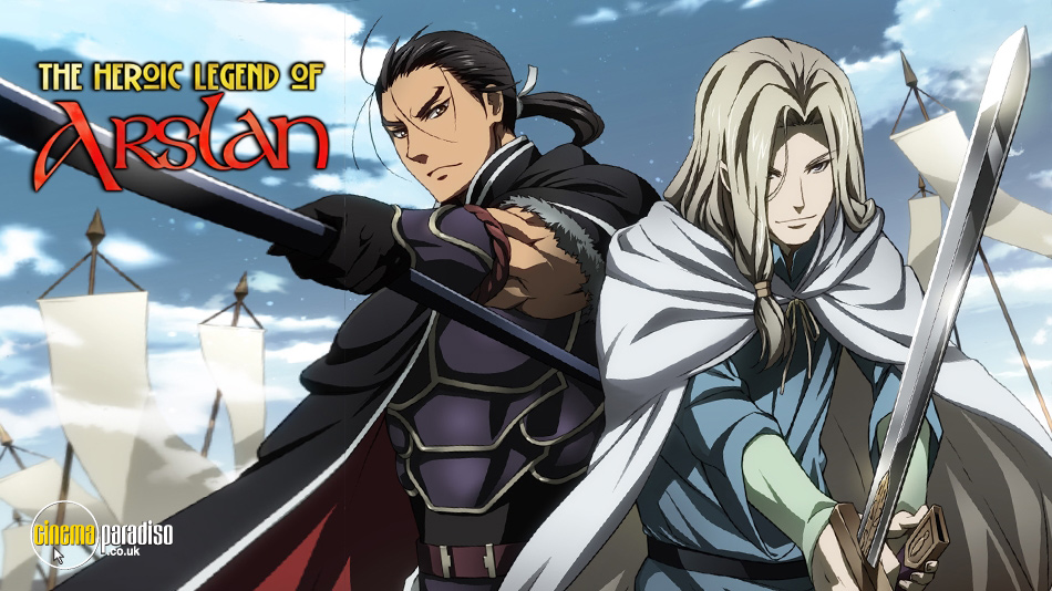 The Heroic Legend of Arslan (aka Arslan Senki) online DVD rental