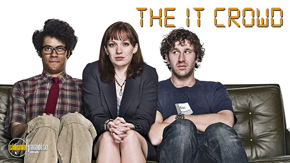 The IT Crowd online DVD rental
