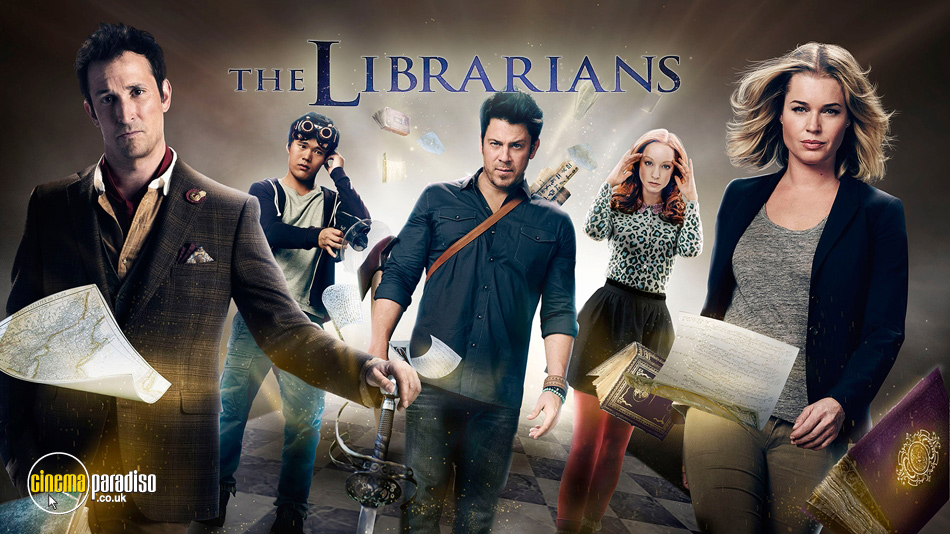 The Librarians online DVD rental