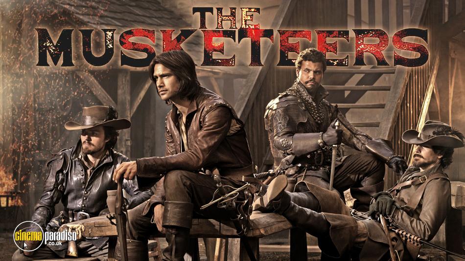 The Musketeers online DVD rental
