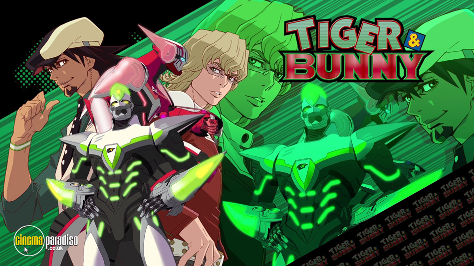 Tiger and Bunny online DVD rental