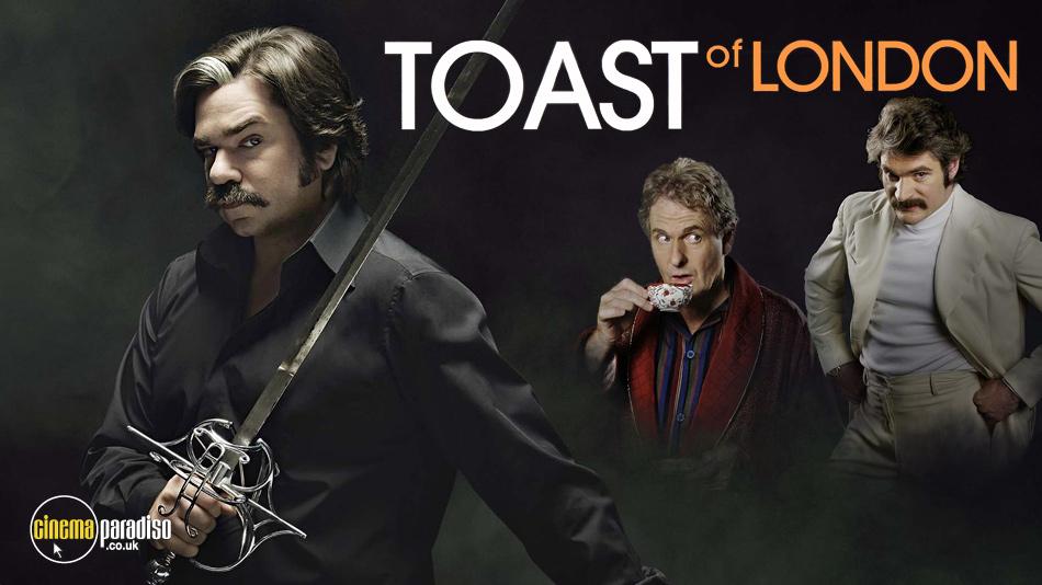Toast of London online DVD rental