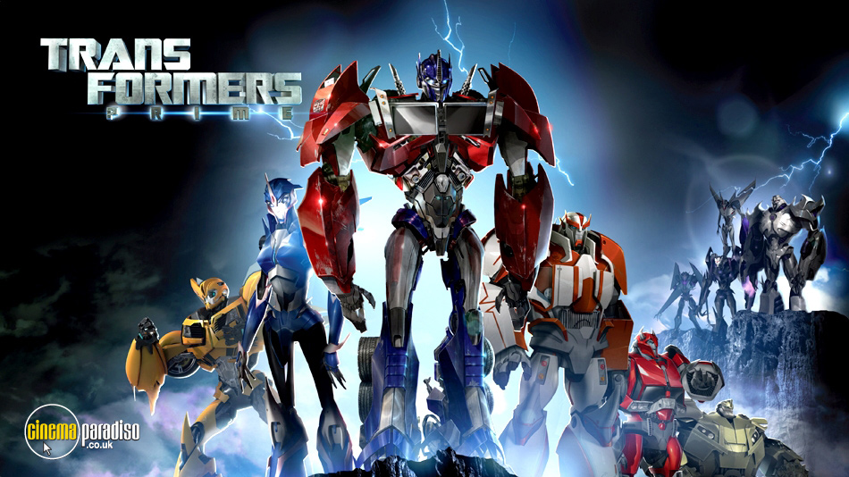 Transformers Prime online DVD rental