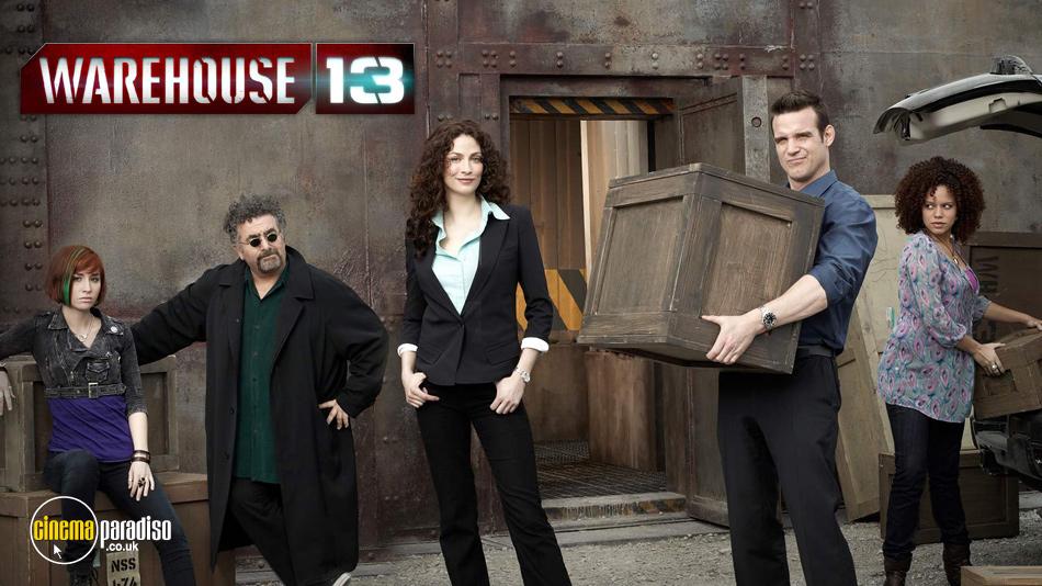 Warehouse 13 online DVD rental