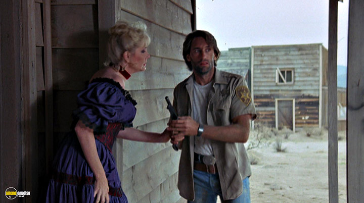 A still #1 from Ghost Town (1988) With Penelope Windust And Franc Luz