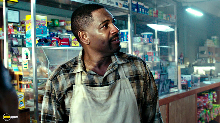 A still #1 from The Purge: Election Year (2016) With Mykelti Williamson