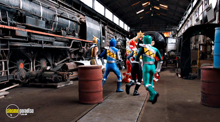 A still #8 from Power Rangers Dino Charge: Hero (2015)