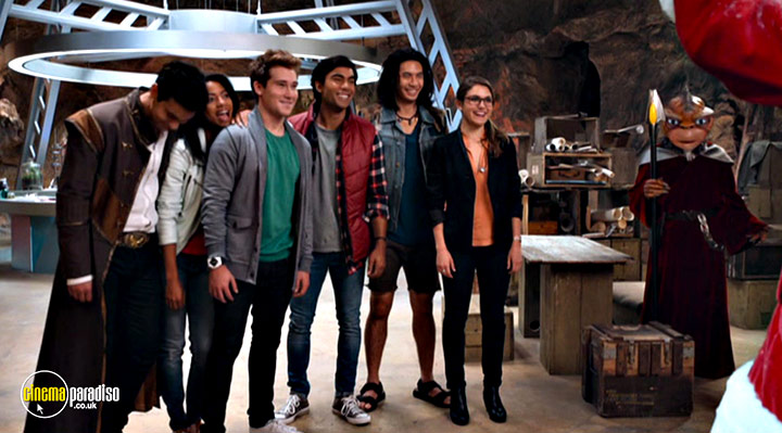 A still #4 from Power Rangers Dino Charge: Hero (2015)
