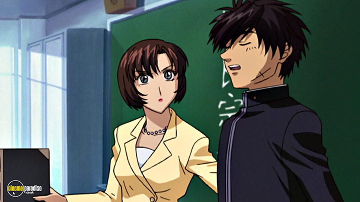 A still #45 from Full Metal Panic!: Series 1 (2002)