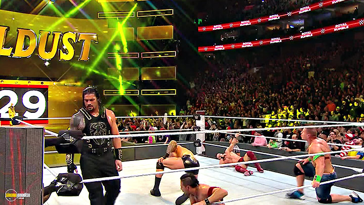 A still #29 from WWE: Royal Rumble 2018 (2018)