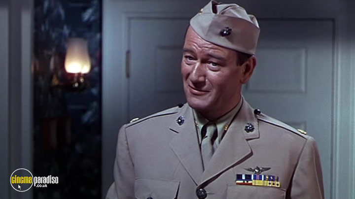 A still #2 from Flying Leathernecks (1951)