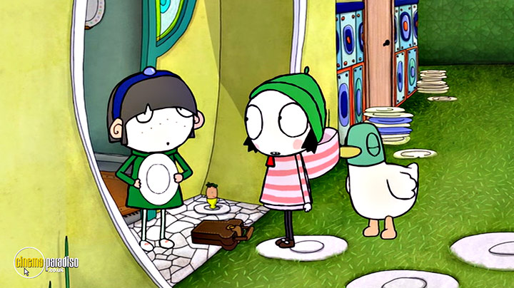 A still #12 from Sarah and Duck: Train Fudge (2016)