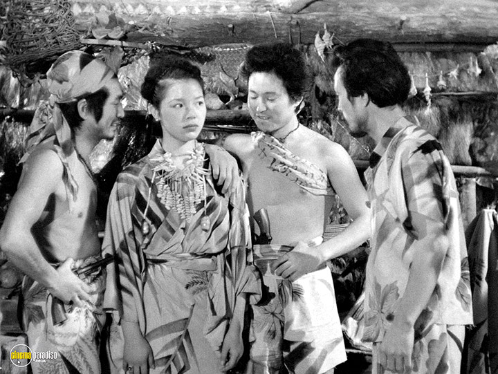 A still #5 from The Saga of Anatahan (1953)