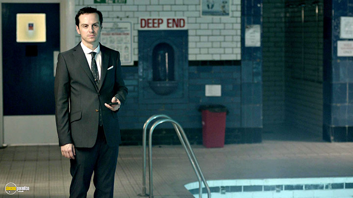A still #19 from Sherlock: Series 2 (2012) With Andrew Scott