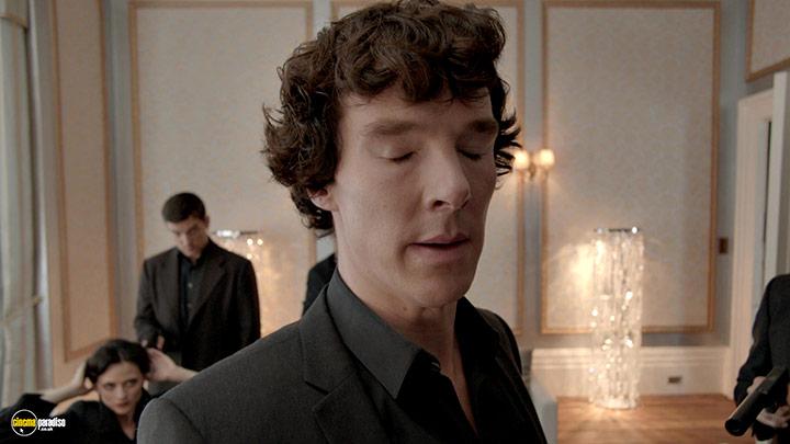 A still #24 from Sherlock: Series 2 (2012) With Benedict Cumberbatch