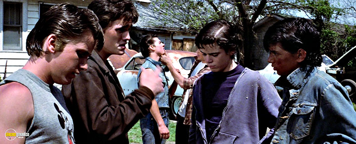 A still #18 from The Outsiders (1983)
