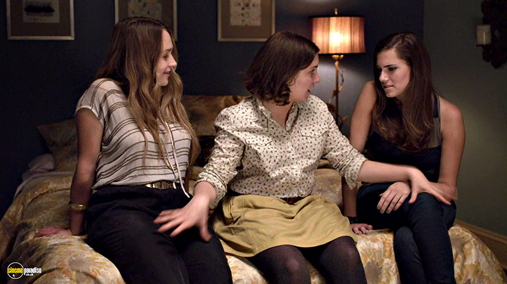 A still #14 from Girls: Series 1 (2012) With Lena Dunham, Jemima Kirke And Allison Williams