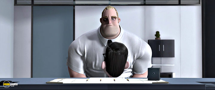 A still #18 from The Incredibles (2004)