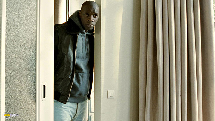 A still #17 from Untouchable (2011) With Omar Sy