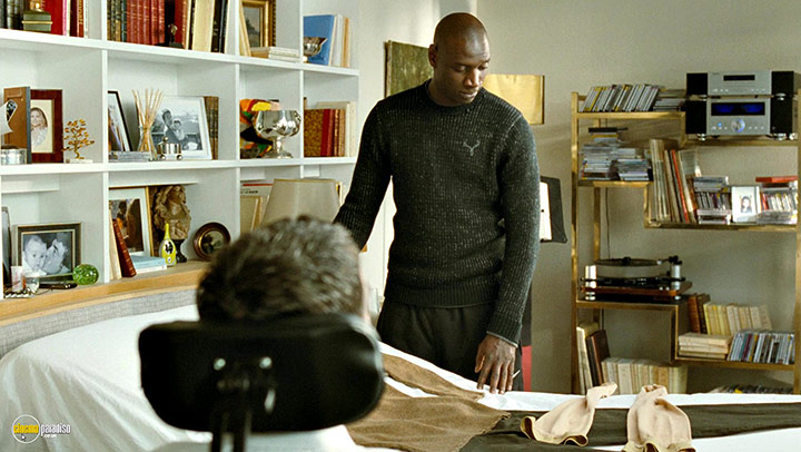 A still #16 from Untouchable (2011) With Omar Sy