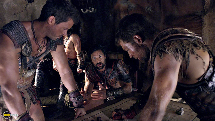 A still #19 from Spartacus: War of the Damned: Series 3 (2013)