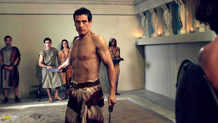 A still #18 from Spartacus: War of the Damned: Series 3 (2013)