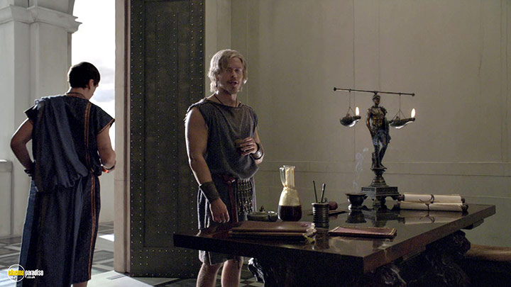 A still #15 from Spartacus: War of the Damned: Series 3 (2013)