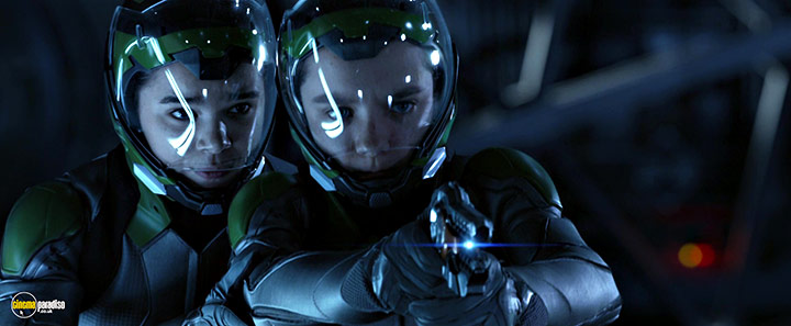 A still #14 from Ender's Game (2013) With Asa Butterfield