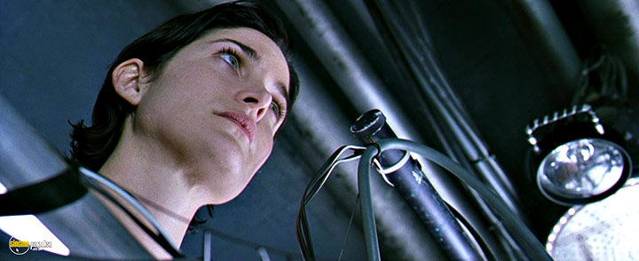A still #19 from The Matrix (1999) With Carrie-Anne Moss
