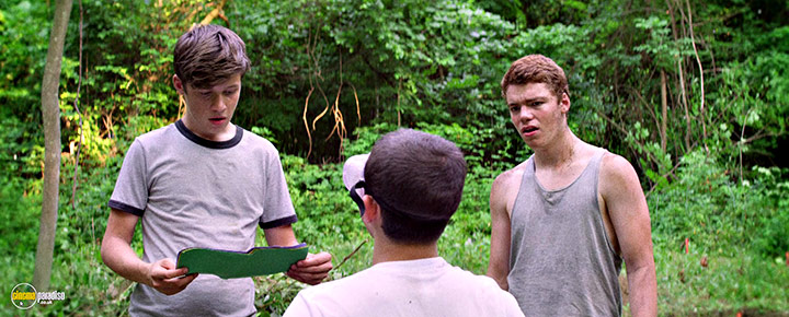 A still #19 from The Kings of Summer (2013) With Gabriel Basso