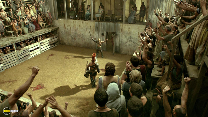 A still #9 from Spartacus: Gods of the Arena (2011)
