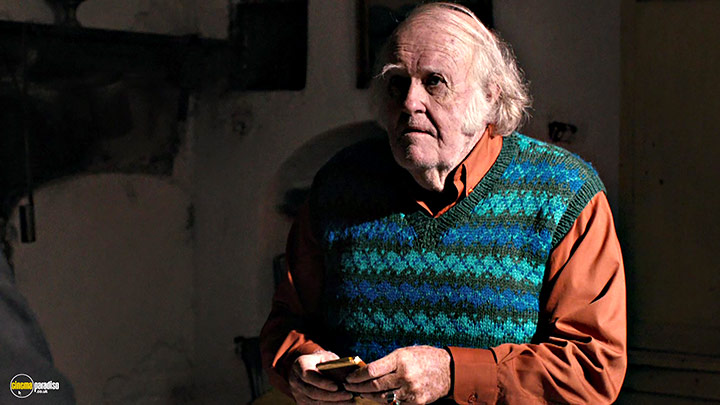 A still #14 from Calvary (2014) With M. Emmet Walsh