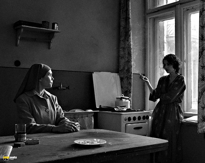 A still #24 from Ida (2014) With Agata Kulesza And Agata Trzebuchowska