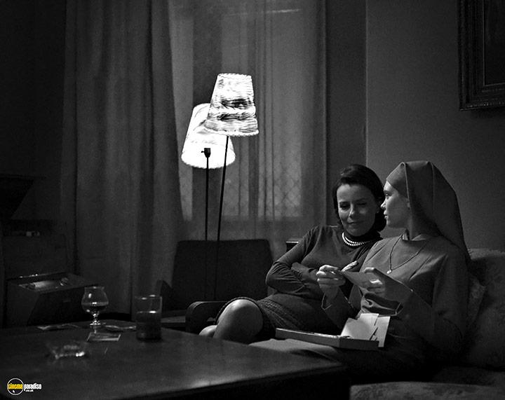 A still #21 from Ida (2014) With Agata Kulesza And Agata Trzebuchowska