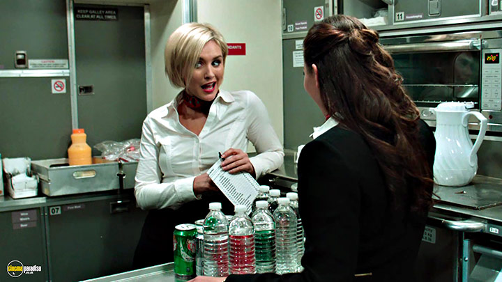 A still #22 from Left Behind (2014) With Nicky Whelan