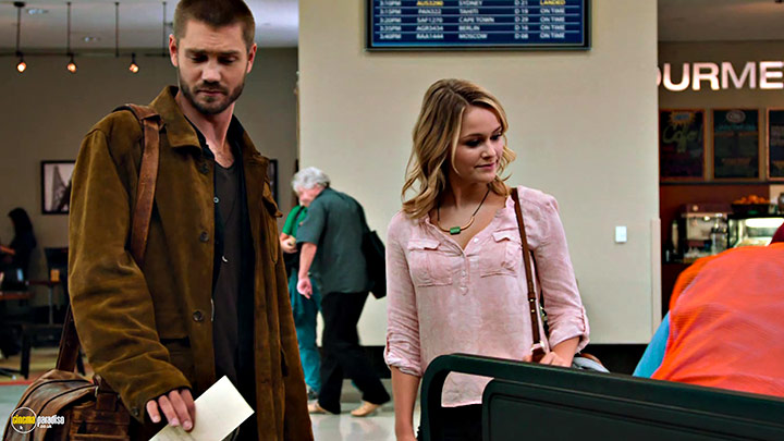 A still #21 from Left Behind (2014) With Chad Michael Murray And Cassi Thomson