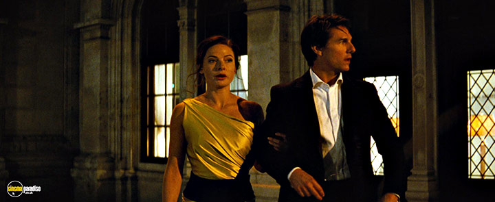 A still #22 from Mission Impossible: Rogue Nation (2015) With Tom Cruise And Rebecca Ferguson