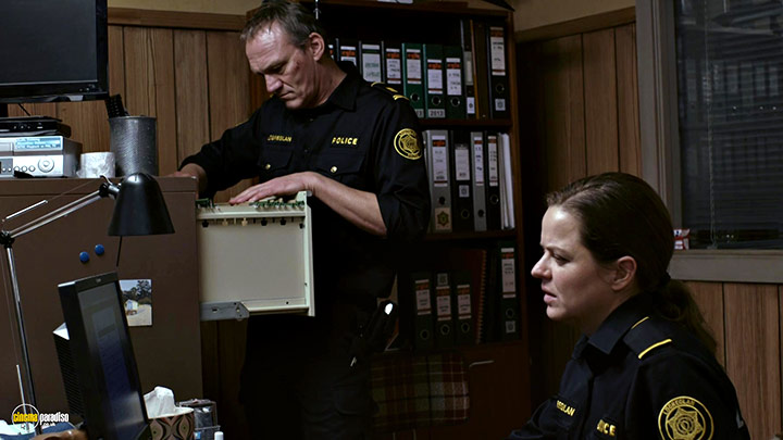 A still #7 from Trapped: Series 1 (2015) With Ingvar Eggert Sigurðsson And Ilmur Kristjánsdóttir