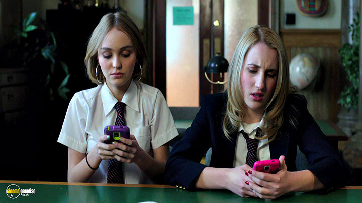 A still #17 from Yoga Hosers (2016)