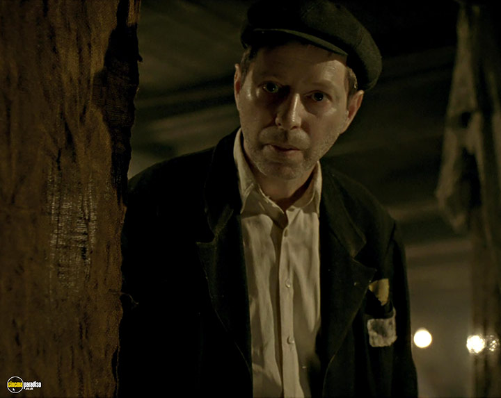 A still #4 from Son of Saul (2015) With Levente Molnár