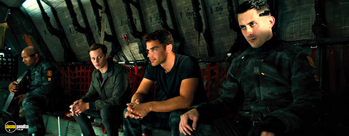 A still #5 from Allegiant (2016) With Theo James And Bill Skarsgård