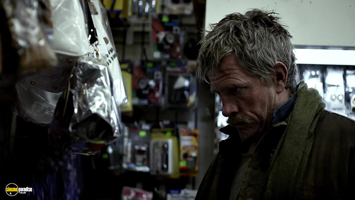 A still #5 from Cardboard Boxer (2016)