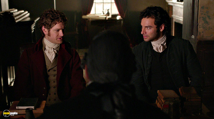 A still #3 from Poldark: Series 2 (2016) With Aidan Turner And Kyle Soller
