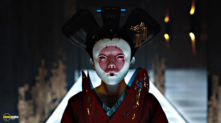 A still #4 from Ghost in the Shell (2017)