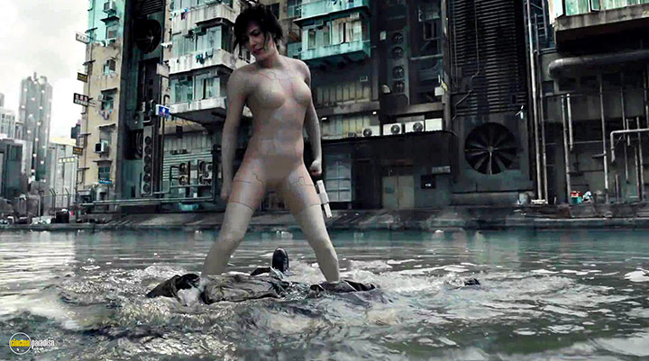 A still #1 from Ghost in the Shell (2017)